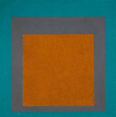 Josef Albers, 'Homage to the Square: Earth and Air', 1965