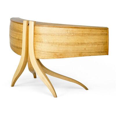 Jere Osgood, 'Large curved desk, Wilton, NH', 1985