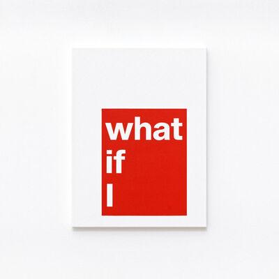 Adib Fricke, 'What if', 2021