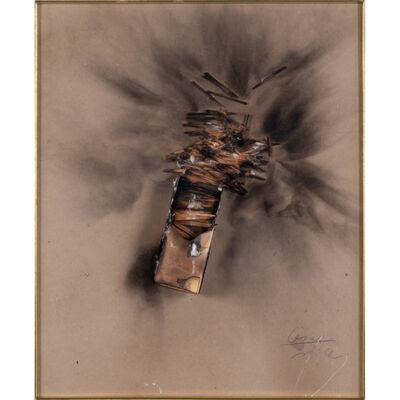 César, 'Combustion d'allumettes', circa 1970