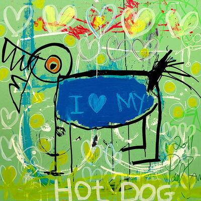 Poul Pava, 'I Love My Hot Dog', 2019