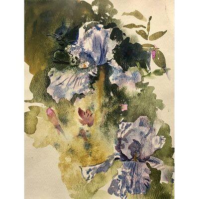 "Emily Stedman, '""Blue Lilacs""', 2020"