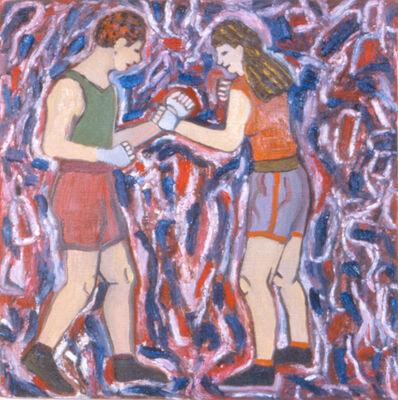 Susan Bee, 'The Quarrel', 1983