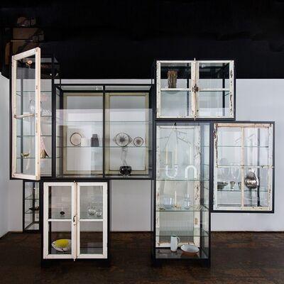 Piet Hein Eek, 'Old Windows Cabinet, 7 Compartments', 2017