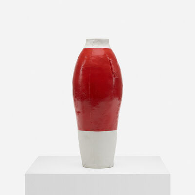 Hella Jongerius, 'Red White Vase', 1997