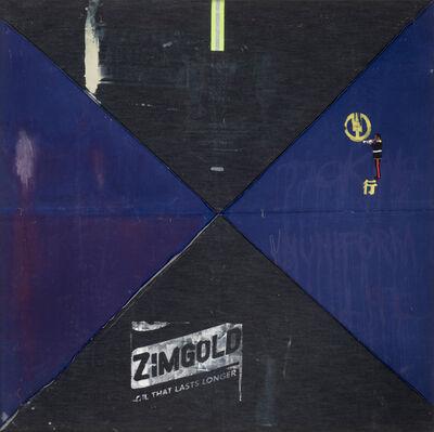 Yonamine, 'Azul Indígena V', 2019