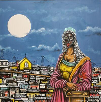 Obou Gbais, 'La joconde d'Anono', 2020