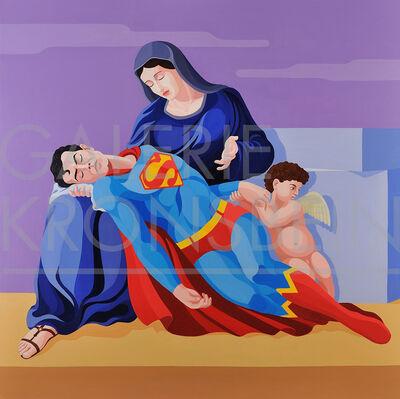 Giuseppe Veneziano, 'La Pietà di Superman', 2010