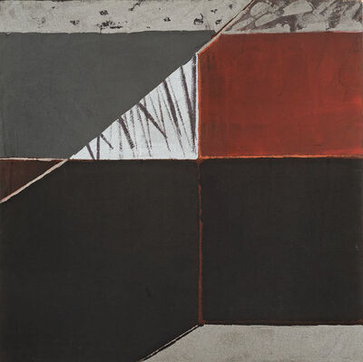 Willem de Looper, 'Mountain Lake #3', 1989