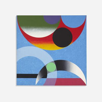 Herbert Bayer, 'Composition Around Green Dot', 1974