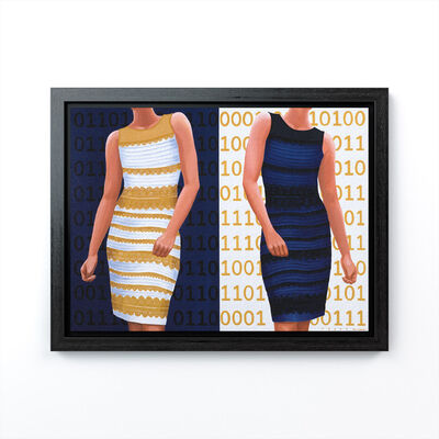 "Robert Deyber, 'Dress Code XVI (""The Dress"")', 2020"