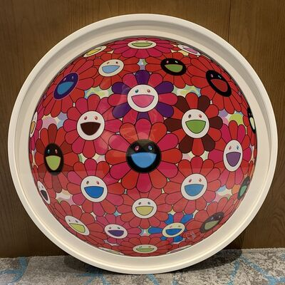 Takashi Murakami, 'Burning Blood (Signed & Framed)', 2018
