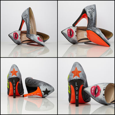 Emanuela Montorro, 'Cherry - Love for Life - Genuine Leather Shoe', 2020