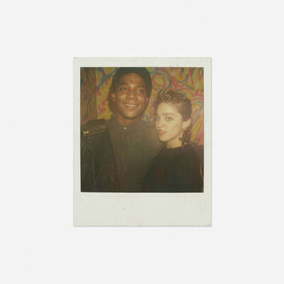 Maripol, 'Portrait of Jean-Michel Basquiat and Madonna', 1982