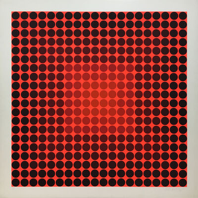 Victor Vasarely, 'VY 12 BF Pokol BF', 1968