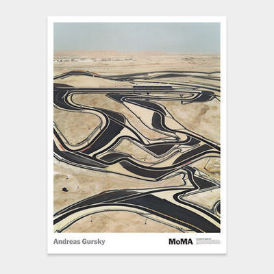 Andreas Gursky, 'Bahrain poster', 2005