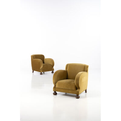 Marta Blomstedt, 'Pair of armchairs', 1940
