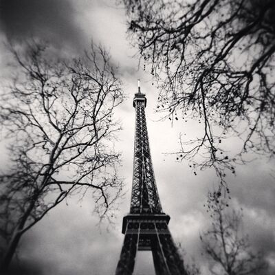 Michael Kenna, 'Eiffel Tower, Study 10, Paris, France', 2013