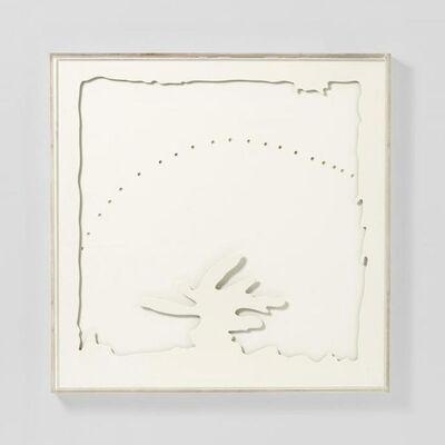 Lucio Fontana, 'Concetto Spaziale - Teatrino (bianco -II-)', 1968