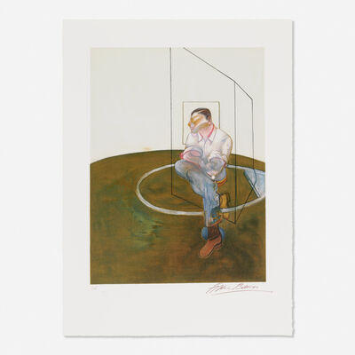 Francis Bacon, 'Study for a Portrait of John Edwards', 1986