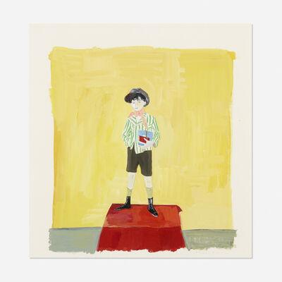 Maira Kalman, 'Boy with Green Striped Jacket', 2003