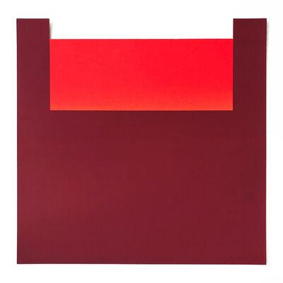 Rupprecht Geiger, 'All die roten Farben 11', 1981
