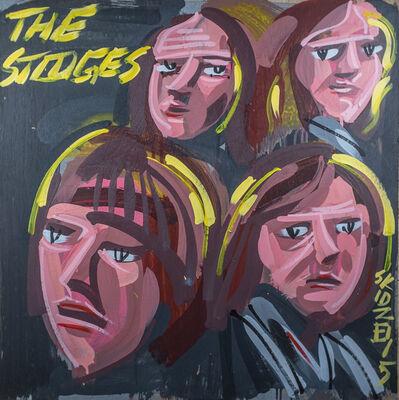 Steve Keene, 'The Stooges', 2015