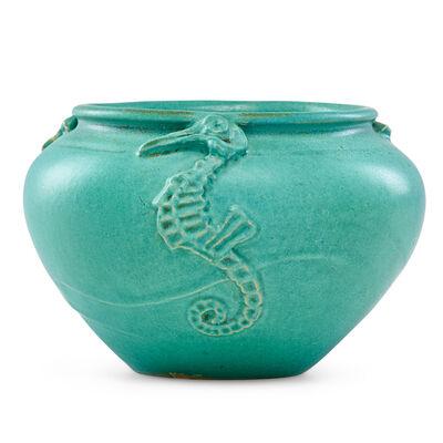 Joseph Meyer, 'Vase with seahorses', ca. 1900