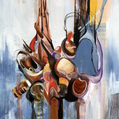 Mo Tuncay, 'Two of us', 2019