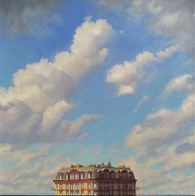 Ed Stitt, 'Clouds Over Building', 2015