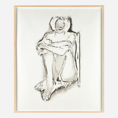 Tom Wesselmann, 'Monica Sitting Against the Wall', 1990