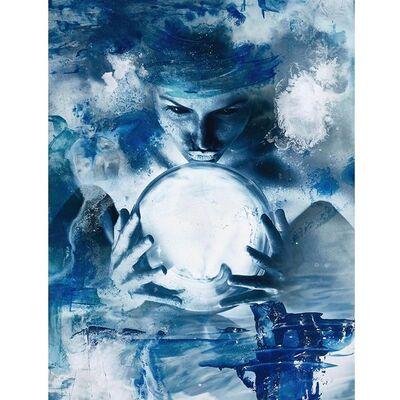 Dan Holmqvist, 'Blue', 2019