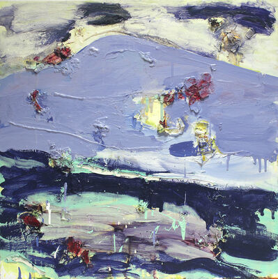Joan Snyder, 'Bluescape', 2004