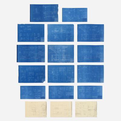Marcel Breuer, 'Levy House blueprints', 1956/1964