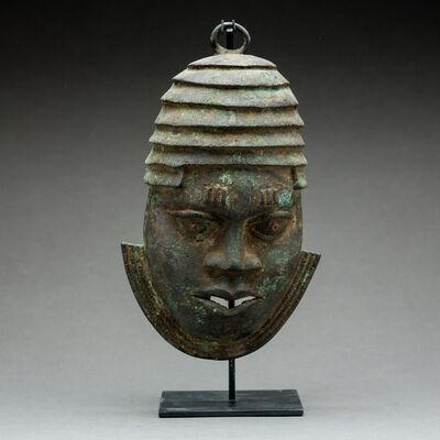 Unknown Benin, 'Benin Bronze Mask of an Oba', 18th Century AD to 19th Century AD