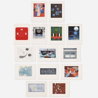Herbert Bayer, 'Portfolio of 14 prints', 1965