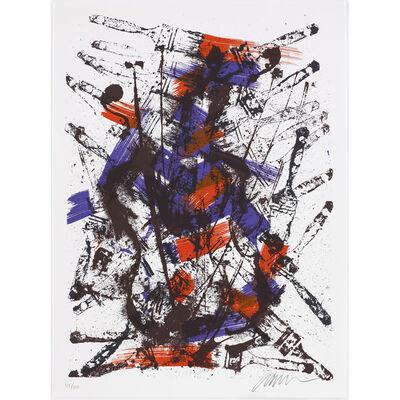 Arman, 'Mélodie brossée III ', 1992
