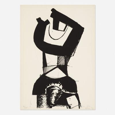 Jean Hélion, 'Figure Dressee', 1969