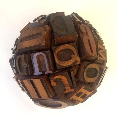 Barton Lidice Benes, 'Untitled Cojones (Wooden Letters)', 2007-2009