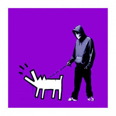 Banksy, 'Choose Your Weapon (Purple)', 2010