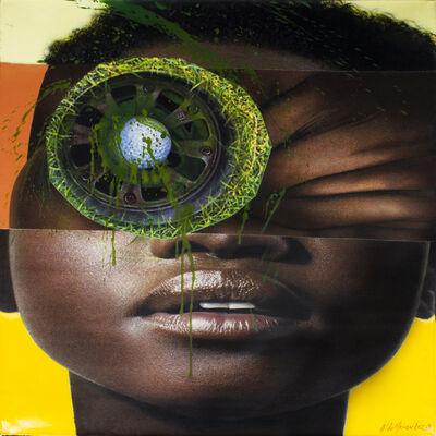 """ALDO MENÉNDEZ, 'Serie Retrato en Chino. """"El hoyo""""', 2008"""