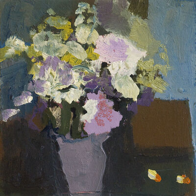 Jennifer Hornyak, 'Flowers with Brown Vase', 2018