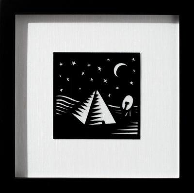 Joe Boruchow, 'Pyramid and Satellite'