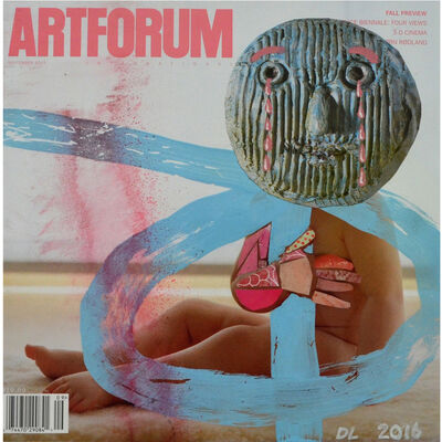 David Lloyd, 'Altered Artforum #4', 2016