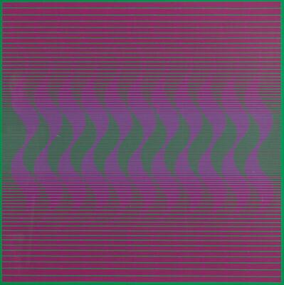 Julian Stanczak, 'Waving Down', 1970