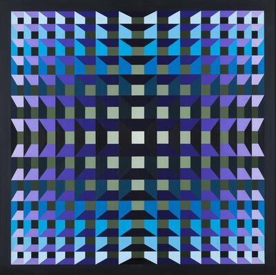 """Yvaral, '""""Structure ambigüe Quadri"""" Progression tvg', 1970"""