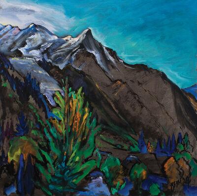 Jeffrey Hessing, 'Aiguille du Goûter (Chamonix)'