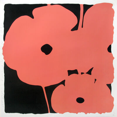 Donald Sultan, 'Poppies June 4 (Coral)', 2011