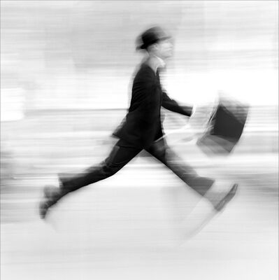Phillip Leonian, 'Man in a Hurry', 1962-printed 2018