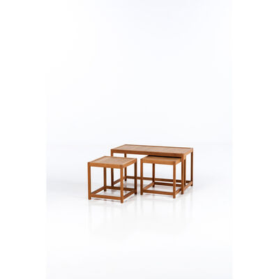 Kurt Østervig, 'Set of three nesting tables', circa 1960